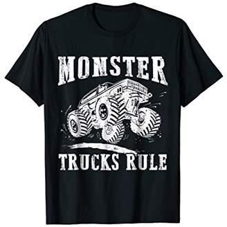 MONSTER TRUCKS RULE T-shirt