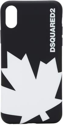 DSQUARED2 MAPLE LEAF RUBBER IPHONE X/XS CASE