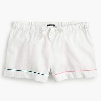 J.Crew Tipped pajama shorts