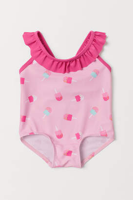 H&M Swimsuit with a frill