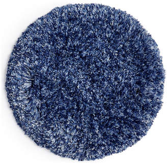 "Martha Stewart Collection Marled 24"" Round Bath Rug, Created for Macy's Bedding"