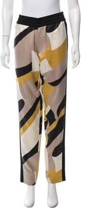 ICB Silk Mid-Rise Pants