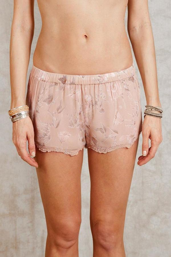 Chan LuuChan Luu Moonlight Floral Shorts