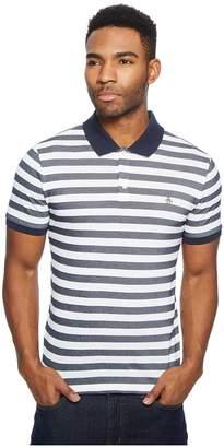 Original Penguin Stripe Polo Men's Short Sleeve Pullover
