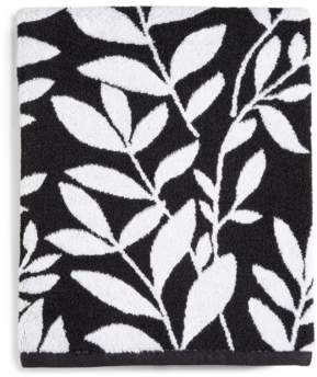 Charter Club Closeout! Elite Fashion Leaves Cotton Bath Towel, Created for Macy's Bedding