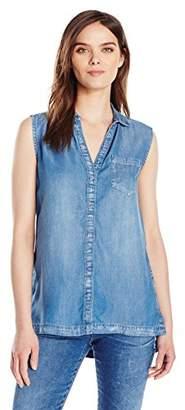 Calvin Klein Jeans Women's Lyocell Sleeveless Tunic