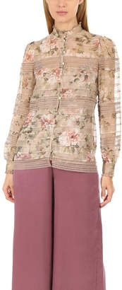 Zimmermann Fleeting Pintuck Blouse