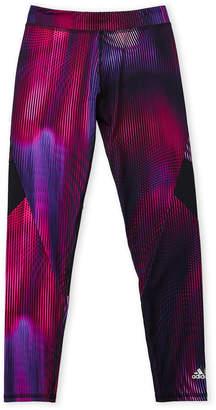 adidas Girls 7-16) Stripe Prism Leggings