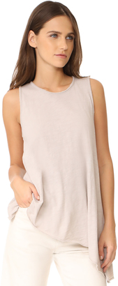 Three Dots Asymmetrical Tank $85 thestylecure.com
