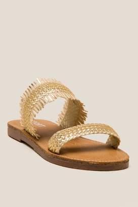Report Oralia Slide Sandal - Gold