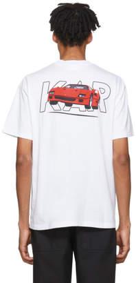 Fly London KAR / LArt de LAutomobile White Ferrari T-Shirt