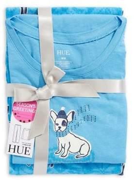 Hue Embellished Puppy Pyjama Set