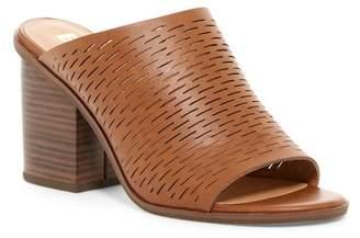 BC Footwear Told You Vegan Block Heel Mule