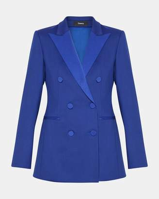 Theory Wool Tux Jacket