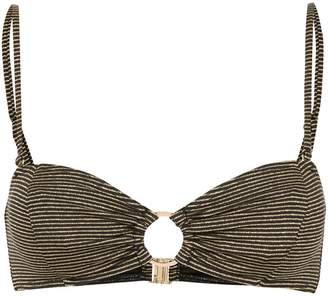 SUBOO Nadia striped bikini top