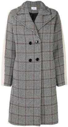 Carven prince of wales oversized coat