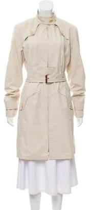 Max Mara Weekend Long-Sleeve Trench Coat