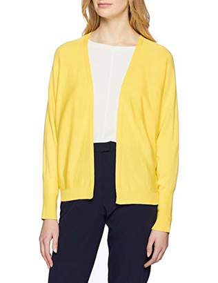 More & More Women's Oversize Cardigan Sunshine Yellow 03, (Size: 36)
