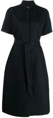 YMC belted shirt dress