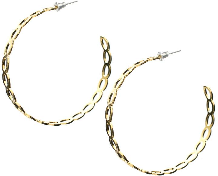ASOS Link Detail Hoop Earring (+)