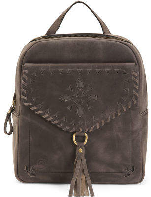 Leather Distressed Backpack