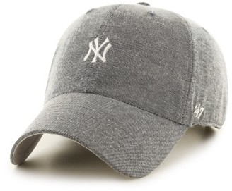 Women's '47 Monument Salute Clean Up Ny Yankees Baseball Cap - Grey $25 thestylecure.com