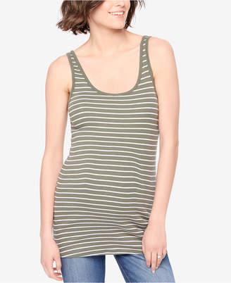 Motherhood Maternity Striped Tank Top