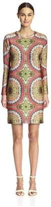 Cynthia Rowley Women's Bonded Sheath Dress,6