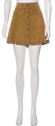 Etoile Isabel Marant Leather Mini Skirt