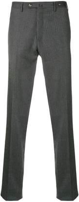 Pt01 herringbone slim trousers