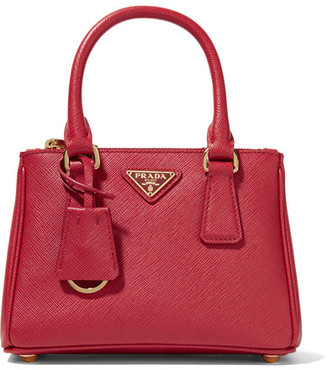 Prada - Galleria Baby Textured-leather Tote $1,350 thestylecure.com