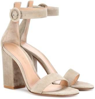 Gianvito Rossi Exclusive to mytheresa.com – Versilia suede sandals