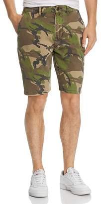Hudson Camouflage-Print Slim Fit Chino Shorts