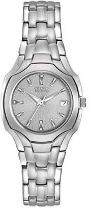 Citizen Women's Eco-Drive Stainless Steel Watch #EW1250-54A