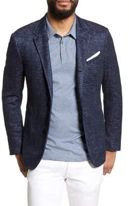 John Varvatos Regular Fit Cotton & Linen Blazer