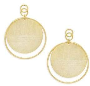 Rivka Friedman Textured Drop Earrings