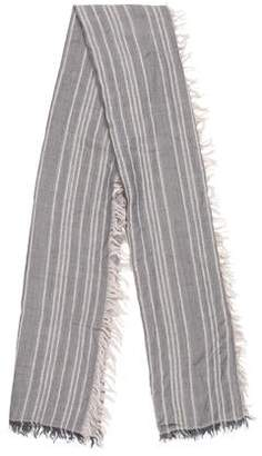 Vince Wool-Blend Striped Scarf