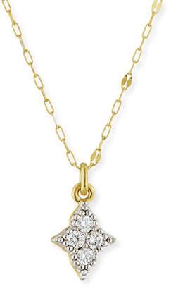 Jude Frances 18k Moroccan Diamond Quad Pendant Necklace