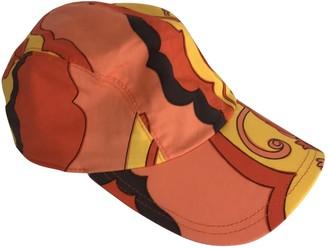 Dolce & Gabbana Orange Cotton Hats