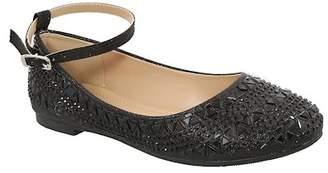 Top Moda Bright Ankle Strap Flat