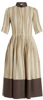 Sophie Theallet Sierra linen and cotton-blend dress