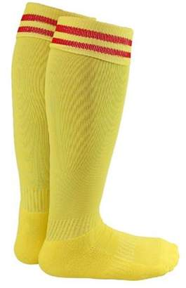 uooja Lian LifeStyle Unisex Children 2 Pairs Knee Length Sports Socks for Baseball/Soccer/Lacrosse S