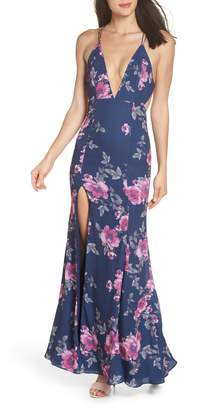 Fame & Partners The Rowen Floral Gown