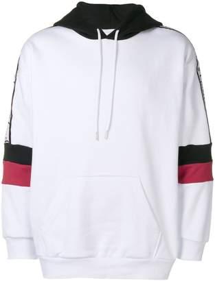 Gaelle Bonheur colour-block long sleeve hoodie