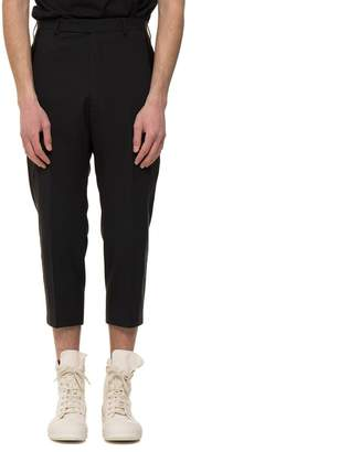Rick Owens Tux Cropped Astaires Pants