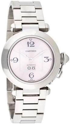 Cartier Pasha Pink Steel Watches