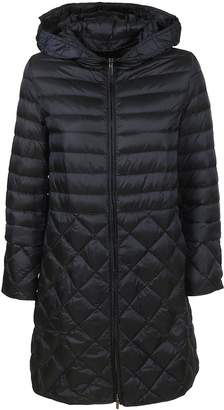Max Mara Quilted Hooded Coat