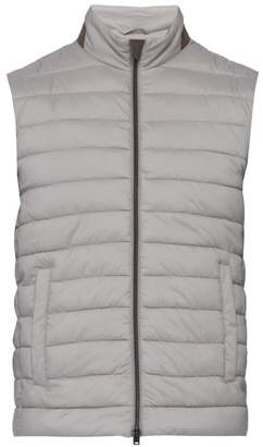 ba111e24ab80 Herno Lightweight Quilted Gilet - Mens - Grey