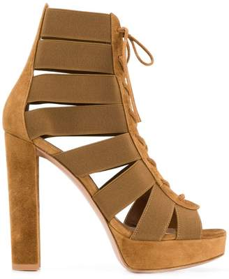 Gianvito Rossi lace-up sandals