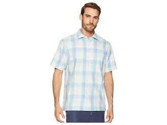 Tommy Bahama Poza Rica Plaid Camp Shirt Men's Clothing